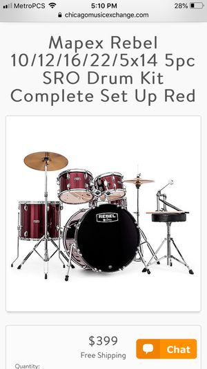 Music Drum set / batteries for Sale in Orlando, FL
