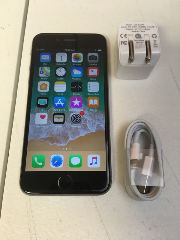 iPhone 6 64GB Unlocked T-Mobile, Metro PCS, AT&T for Sale in Hemet, CA -  OfferUp