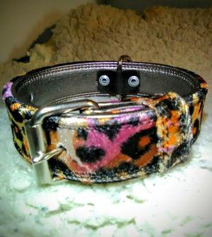 "Quality leopard Designer ""Dog Collar"" for Sale in Glendora, CA"