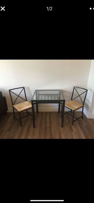 Table with 2 chairs for Sale in Arlington, VA