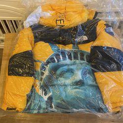 Supreme X North Face Baltoro Jacket Yellow - Size Small Thumbnail