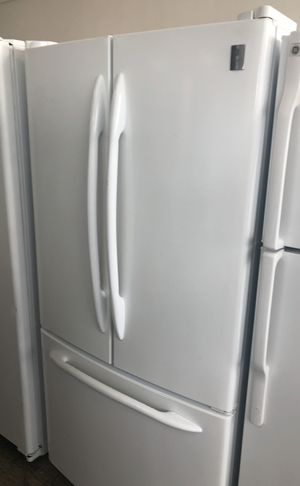 White Ge French Door Refrigerator For Sale In Bloomington Ca Offerup