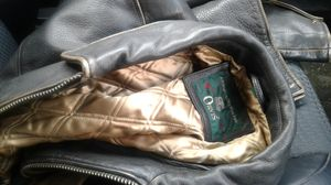 Orvis leather jacket xl for Sale in Washington, DC