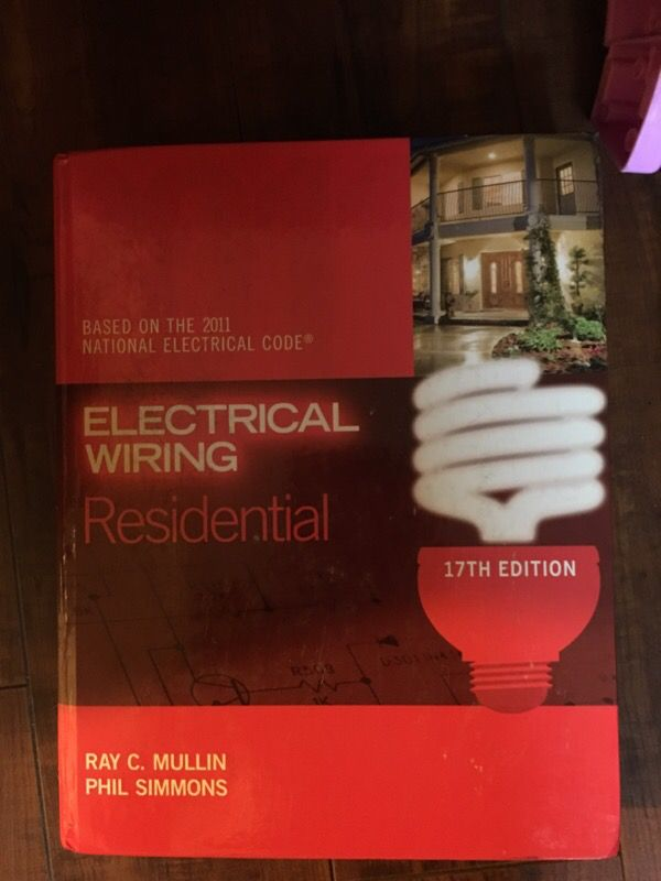 Phenomenal Electrical Wiring Residential Book By Mullin For Sale In Los Angeles Wiring Cloud Hisonuggs Outletorg