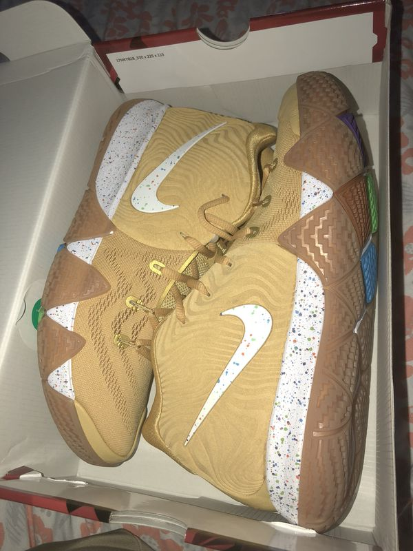 a7bfe8fe705d Nike Kyrie 4 General Mills Cinnamon Toast Crunch for Sale in Santa ...
