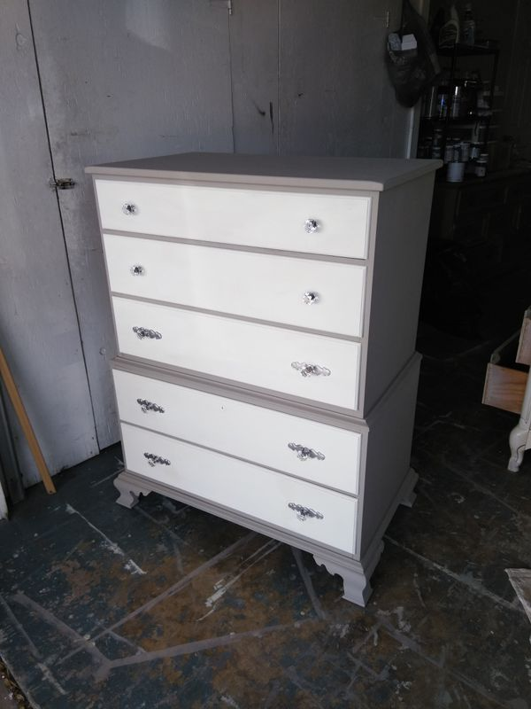 Beautiful Solid Wood Dresserchest Of Drawers For Sale In Tarpon