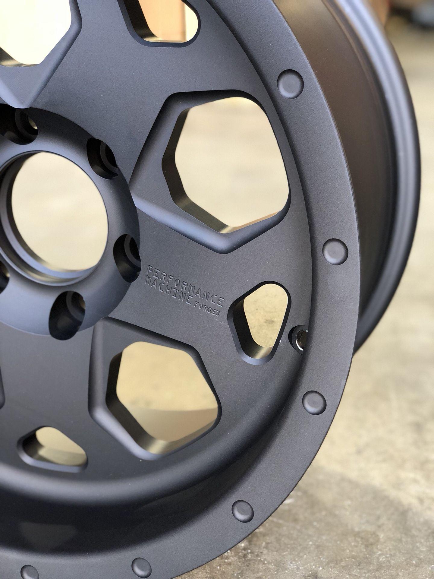 Raptor wheels by Performance Machine