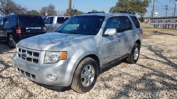 2008 Ford Escape Limited 128255 Miles