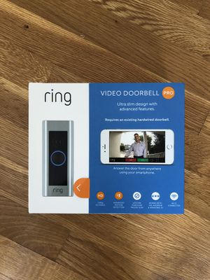 Ring Pro Video Doorbell for Sale in undefined