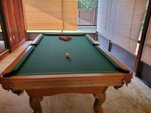 Photo 100% Solid Oak American Heritage Pool Table