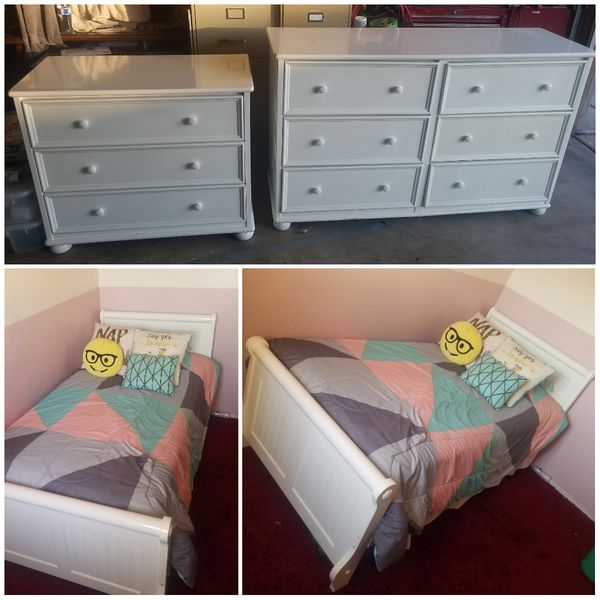 Living Spaces Twin bedroom Set! for Sale in Fontana, CA - OfferUp