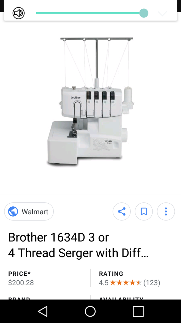 Brother Serger 40d For Sale In Pomona CA OfferUp Amazing Serger Sewing Machines Walmart Canada