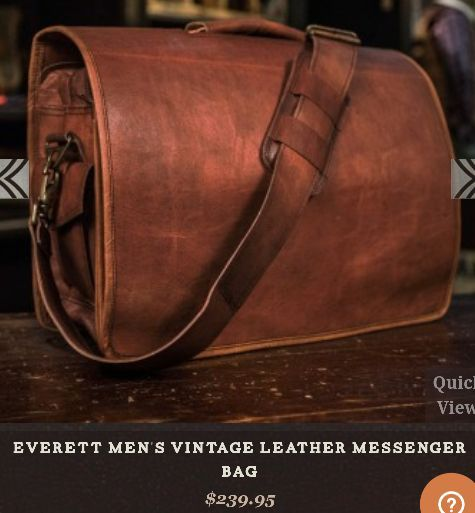 c87506aecf0b Leather messenger bag for Sale in Indian Trail