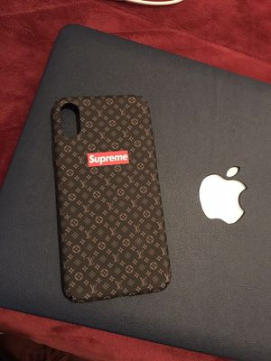 sports shoes 59e3c f9e35 iPhone X Case (Supreme & Louis Vuitton) for Sale in Milpitas, CA - OfferUp