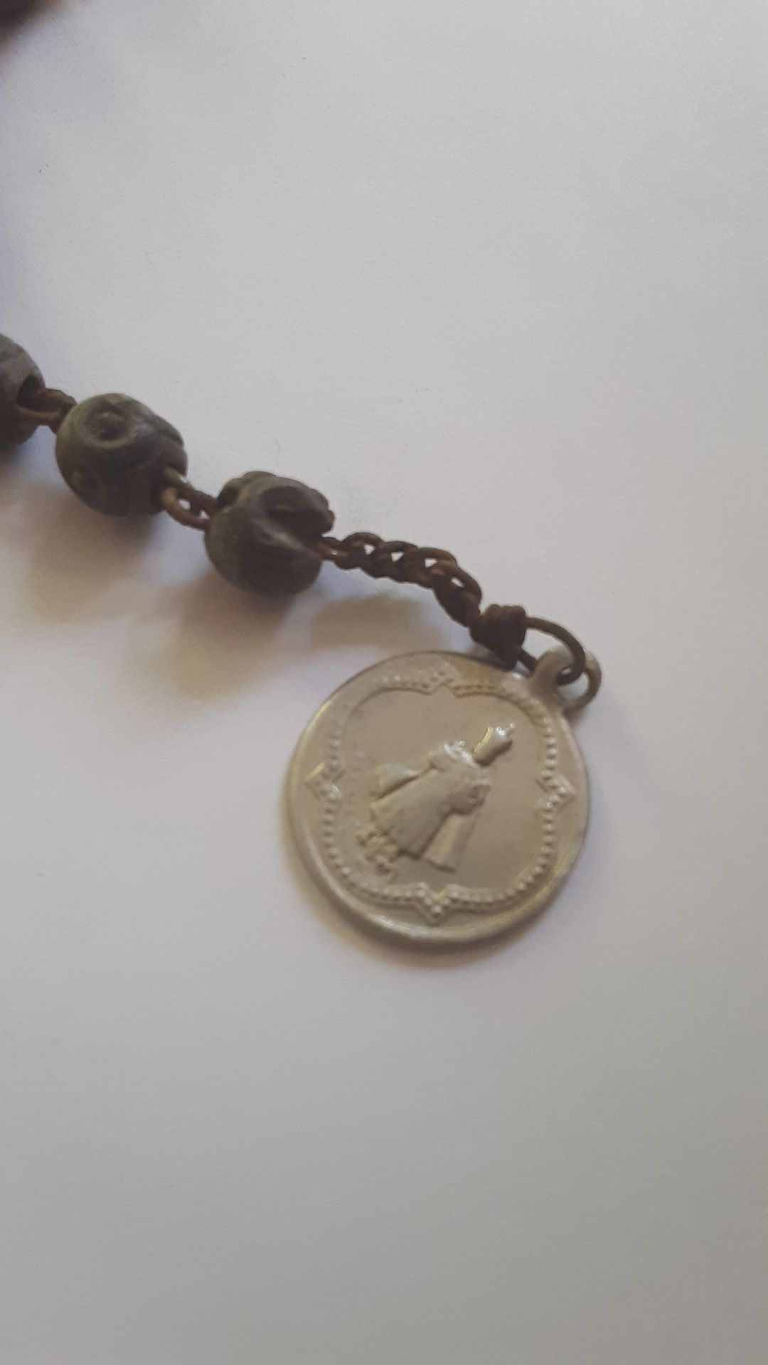 Vintage Infant Religious Bracelet