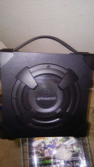 Polaroid Bluetooth speaker with LED lights for Sale in Seattle, WA