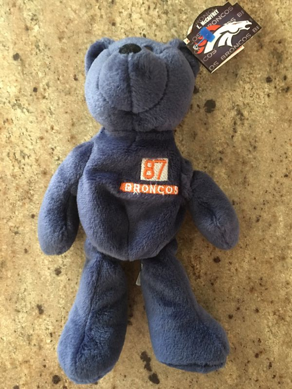 5672242177ad86 3/3 Limited Treasures Pro Beanie Bears Ed McCaffrey #87 Champs NEW NFL  Broncos $5