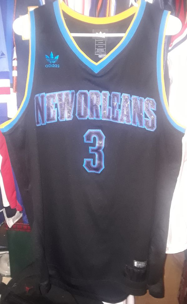 NBA NEW ORLEANS HORNETS CHRIS PAUL LIMITED EDITION ADIDAS AUTHENTIC  STITCHED LARGE JERSEY for Sale in Red Oak 431af6ee9