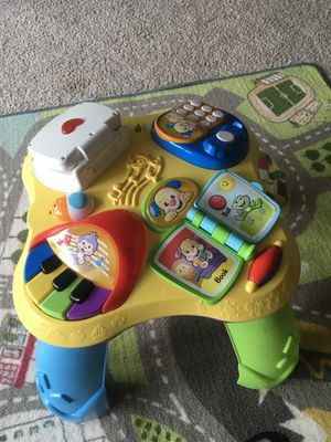 Musical table & activity center for Sale in Alexandria, VA