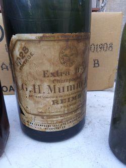 Beautiful vintage glass bottles Thumbnail