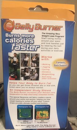 Belly Burner waist belt Thumbnail