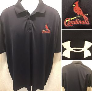 St. Louis Cardinals Under Armour Embroidered Size 2XL Polo for Sale in St. Louis, MO