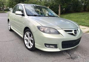 0NLY $3400 ! 2008 Mazda 3 S Touring ! AuX ' Light Green Color ' Drives Good for Sale in Lanham, MD