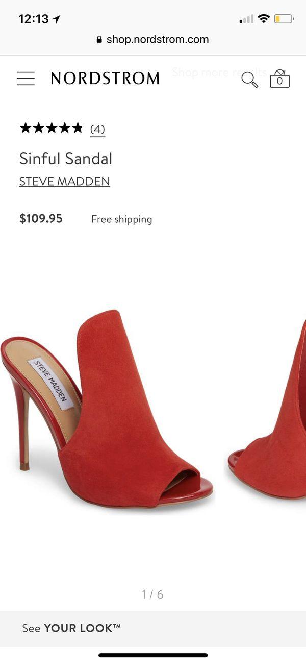 20c538d542 Steve Madden sinful sandal for Sale in Silverado, CA - OfferUp