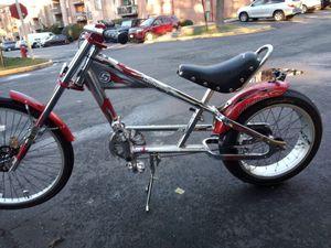 Bike chopper AND the helmet named Speedy sipterc for Sale in Annandale, VA