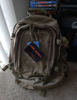 Tactical backpack with hydra pack for Sale in Sanger, CA