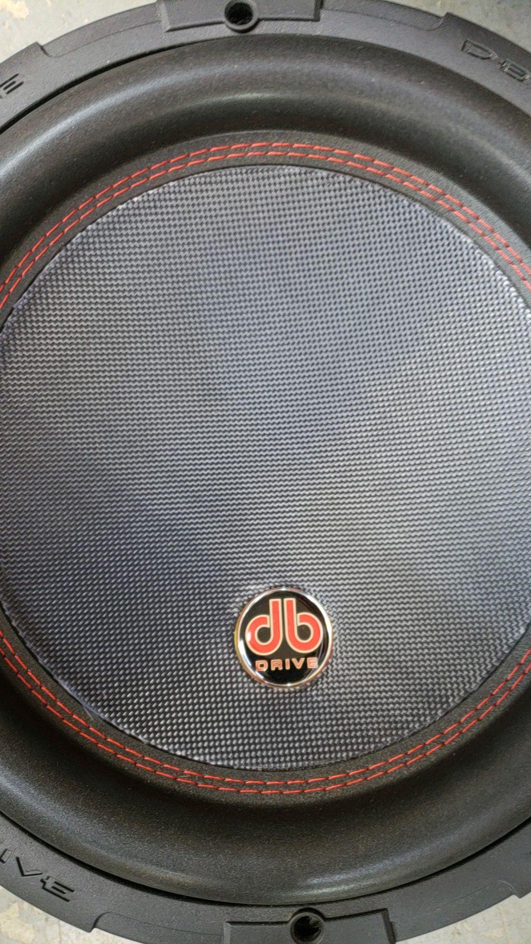"""DB Drive Platinuim 12"""" 1750 watts"""