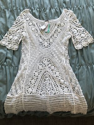 69ba3dfc46 Calzedonia white lace dress swim suit cover up for Sale in Newport Beach, CA