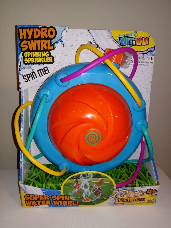 TIDAL STORM HYDRO SWIRL SPINNING SPRINKLER OUTDOOR TOY!! (Games ...