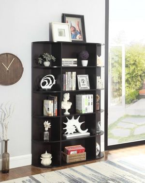 Brown bookcase brand new with delivery for Sale in Hialeah, FL