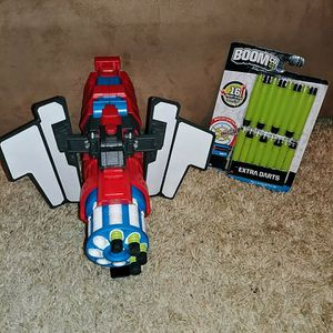 Boomco Twisted Spinner & darts for Sale in Wichita, KS