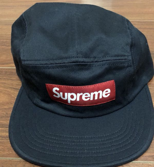 100% authentic Supreme hat (blue navy) new with tag for Sale in ... e9323305b