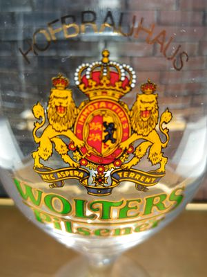 Wolters Pilsener Hofbrauhaus 0.2 Liter Beer Glass Collection for Sale in El Paso, TX
