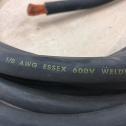 24 foot of copper welding cable Thumbnail