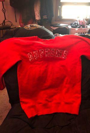 2d7122206f2d Supreme X Louis Vuitton Arc Logo Crewneck for Sale in Naperville