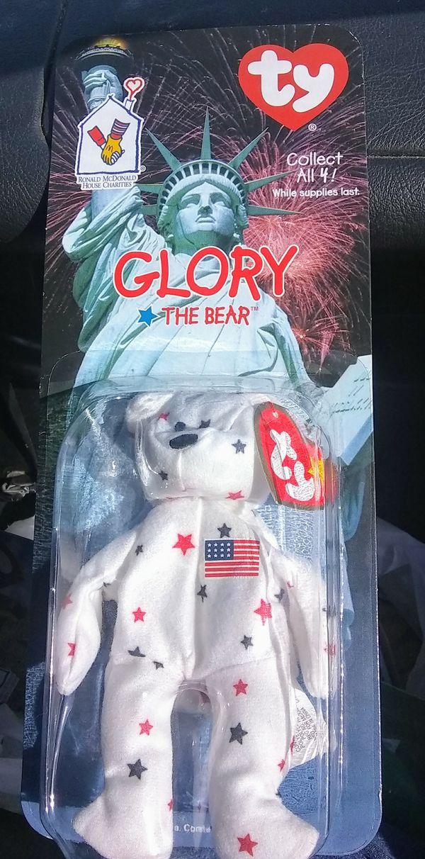 International Ty Beanie Babies Erin   Glory Bears - Ronald McDonald House  Charities collection with 1993 ERROR f55cf59471e0