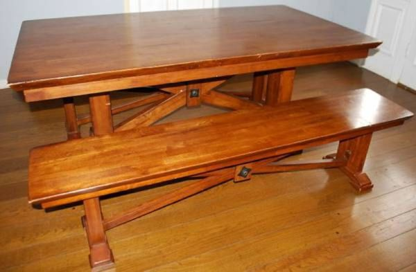 World Market Lugano Dining Table And Benches