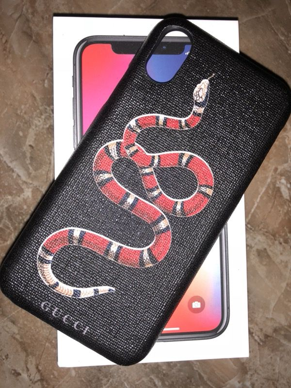the latest 67b97 9d668 Gucci iPhone X case for Sale in Rancho Mirage, CA - OfferUp