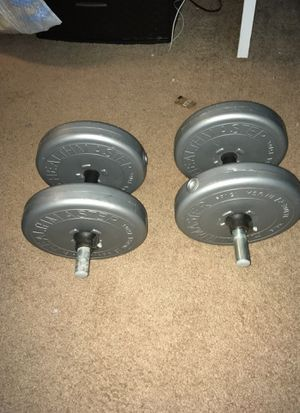 15lbs dumbbells for Sale in Montgomery Village, MD