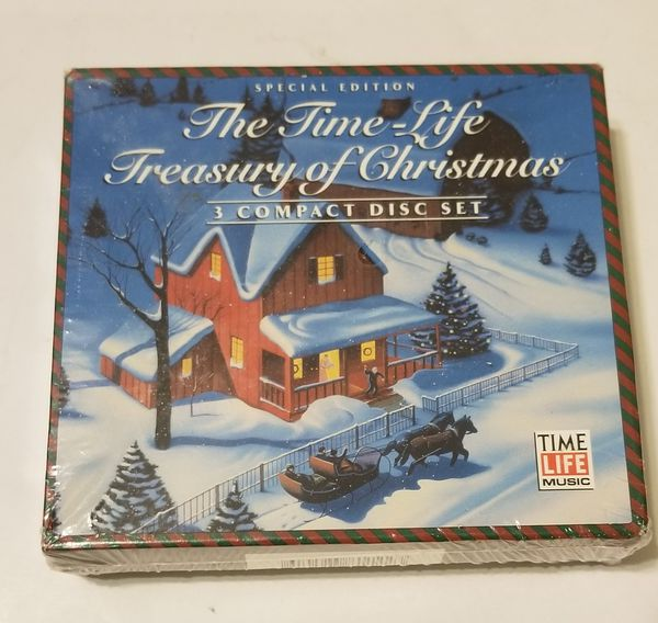 Time Life Treasury Of Christmas.The Time Life Treasury Of Christmas 3 Cd Set Music Brand New For Sale In St Petersburg Fl Offerup