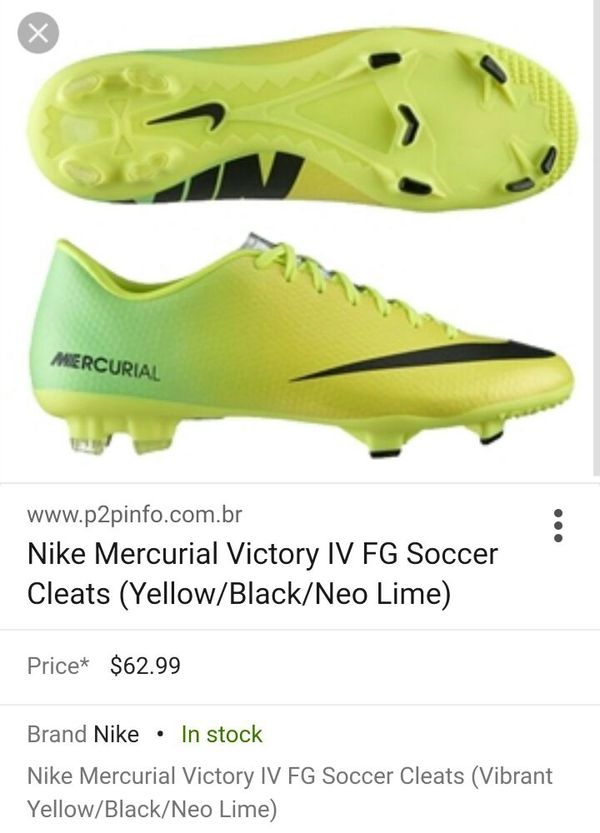 new product 2b639 53d08 CR7 Mercurial Victory IV S.11 cleats for Sale in San Jose, CA - OfferUp