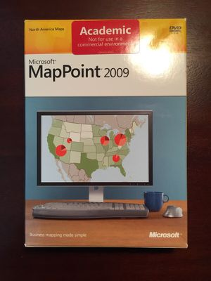 Microsoft MapPoint 2009 for Sale in Saint Louis, MO