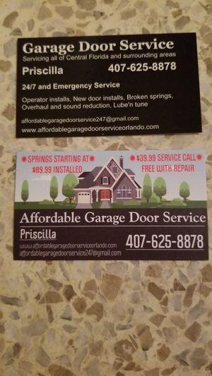 garage door repair kissimmee