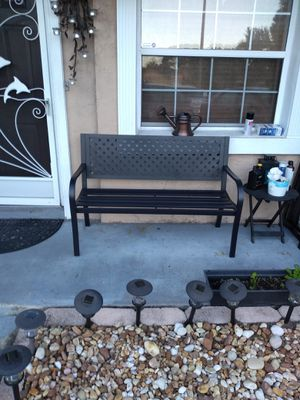 Metal bench for Sale in Orlando, FL