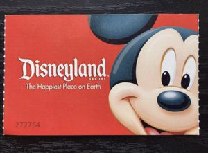 LOOKING FOR 2 or 3 TICKETS FOR DISNEYLAND for Sale in Santa Monica, CA