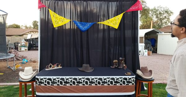 Cowboy Western Party Theme- party rental for Sale in Tempe, AZ - OfferUp